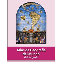 Libro de Atlax de Geografia del Mundo Quinto 5 Grado Primaria