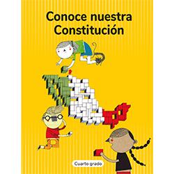 Libro de Conoce Nuestra Constitucion Cuarto 4 Grado Primaria