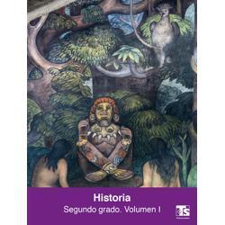 Libro de Historia Volumen I Segundo 2 Grado Secundaria